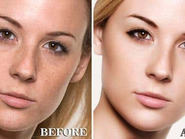 photoshop High End Retouching