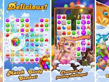 Candy-style Game App_Candy MANIA MATCH