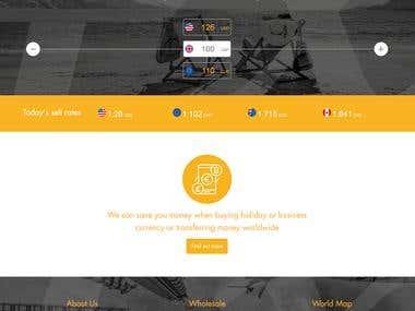 Finance Business Website