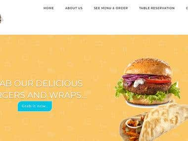 Food Ordering Website