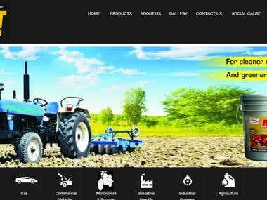Mdtlubes.com - A lubricant company website