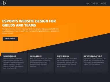 Website Design + Branding