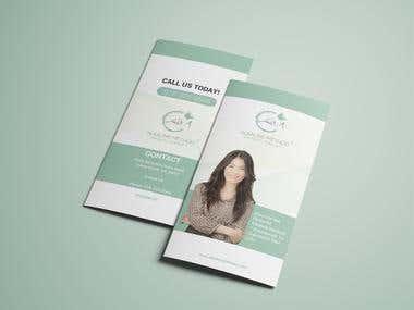 Therapy Tri-fold Brochure