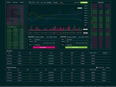 Trading UI (Dashboard)