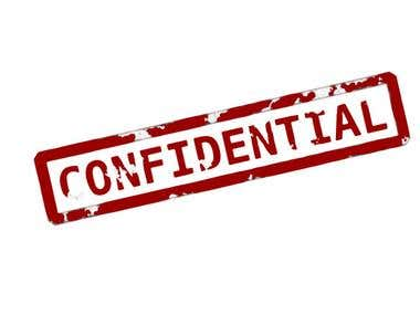 Respect NDA and confidentiality