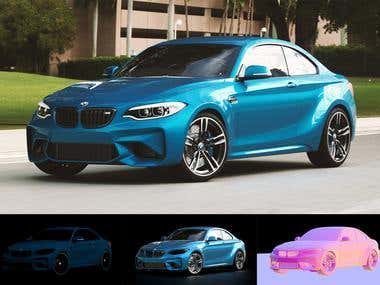BMW M2 - Car Render