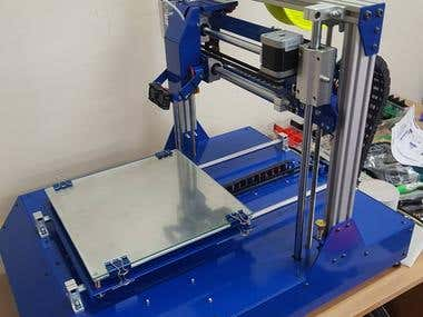 Design and production of 3D printers
