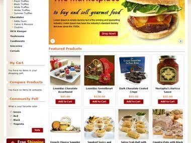 Web site graphics.