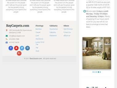 Fully responsive single page design + HTML/CSS