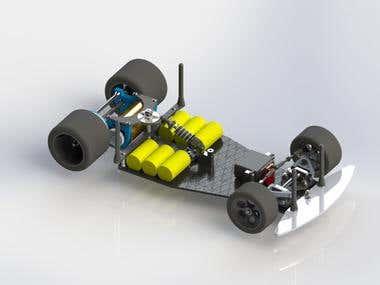 3d model RC car