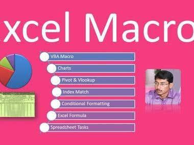 Excel Macro VBA