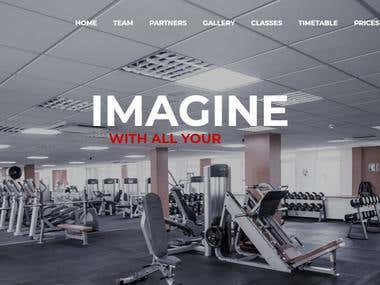 Website - Local Gym