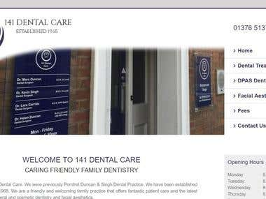 Website - Dentist