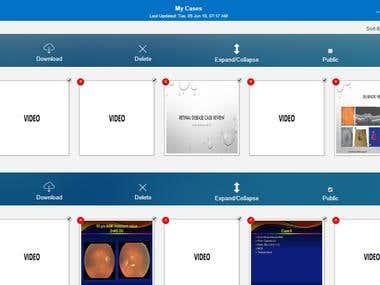 Retina Case Review Platform