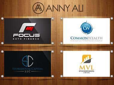 Finance logos Designs