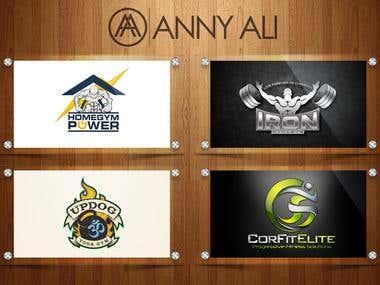 Fitness logos Designs