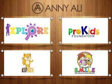 Kids Logos Designs