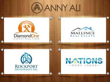 Real Estate Logos Designs