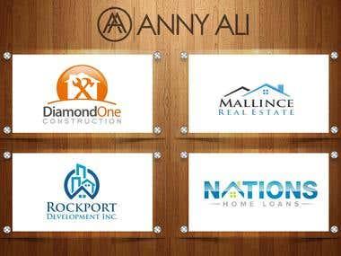 Real Estate Logos Designs