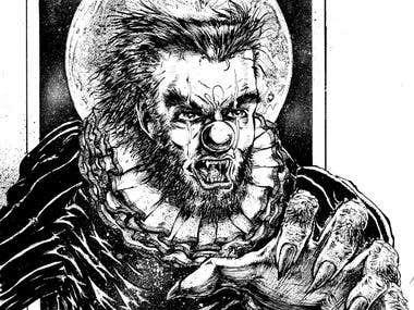 Werewolf Clown