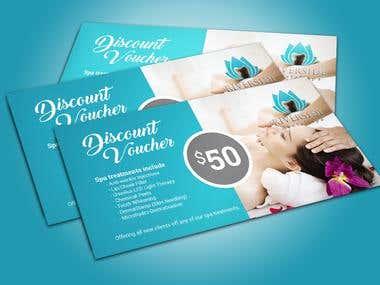 Spa Voucher/coupon