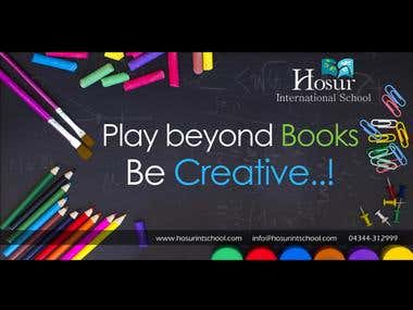 Hosur International School (Hoardings)