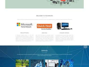 WordPress Website (http://techmicrosolutions.in)