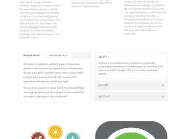 Web Application for Engineering Company (https://www.metcoe)