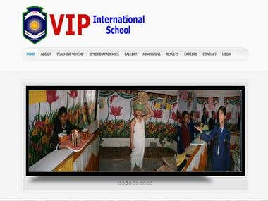 Joomla - School Website with results and student management