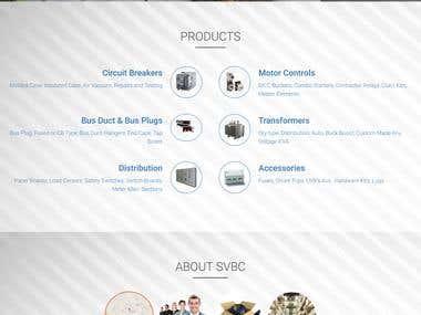 e-Commerce Site (https://svbcinc.com/)