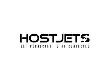 Host Jets Logo Design