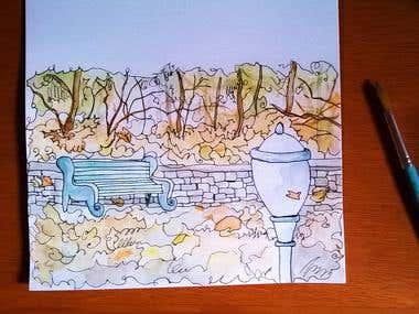 Watercolor - Book Illustration