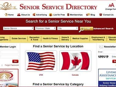 Senior Service Directory