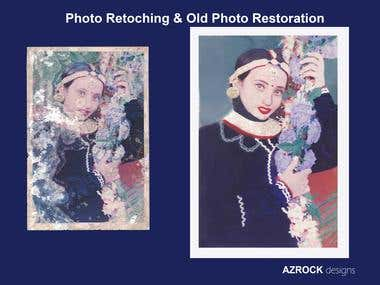 Photo Retouching & Old Photo Restoration