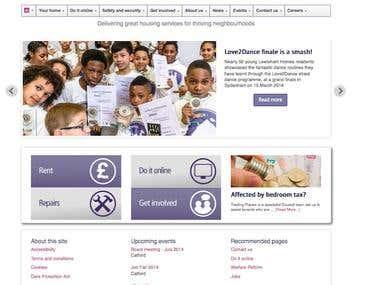 Migrate Corporate site to WordPress