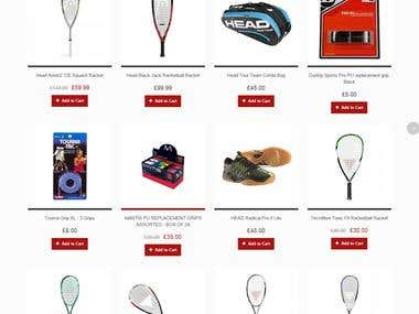 Fantasy Squash Website
