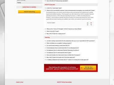 HACCP Portal