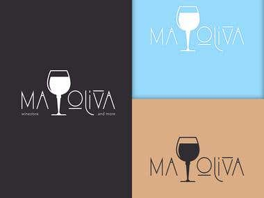 Logo design for MA Oliva store