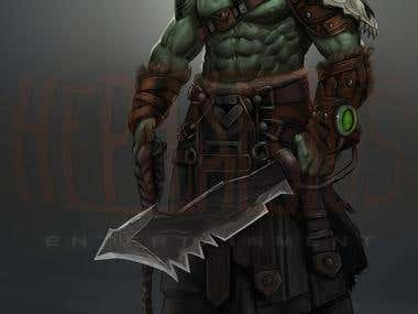 Orc Male Character
