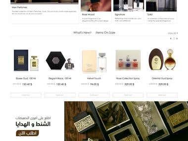 E-commerce - Magento website