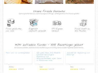 PHP E-commerce website
