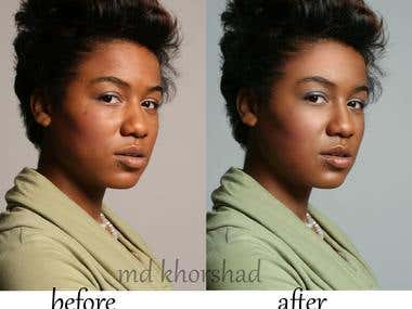 high_end photo retouching