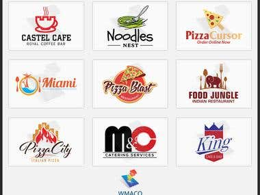 Restaurant Logo Design - Web Mobile App Co