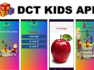 DCT-KID app