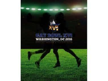 Flag football tournament program