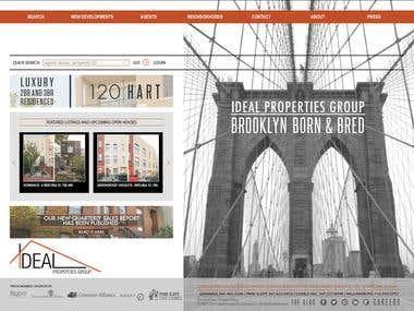 Ideal Properties Group - Brooklyn Real Estat ( CodeIgniter )