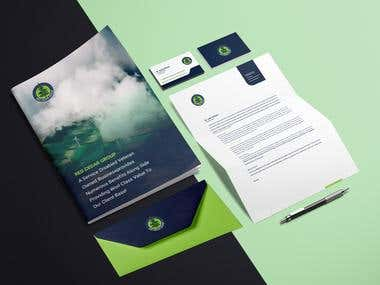 Red Cedar Group Branding