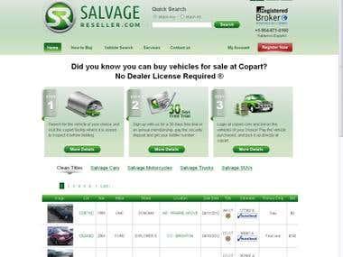 SalvageReseller.com ( CodeIgniter )
