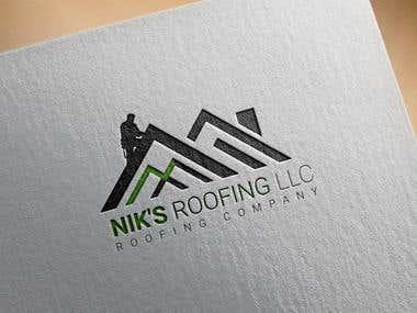 Nik`s Roofing Logo