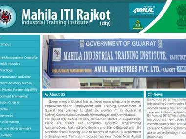 Wordpress - Mahila ITI Rajkot City